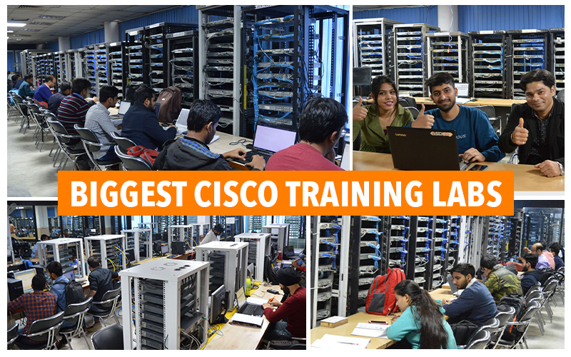 Biggest Cisco training labs - Network Bulls