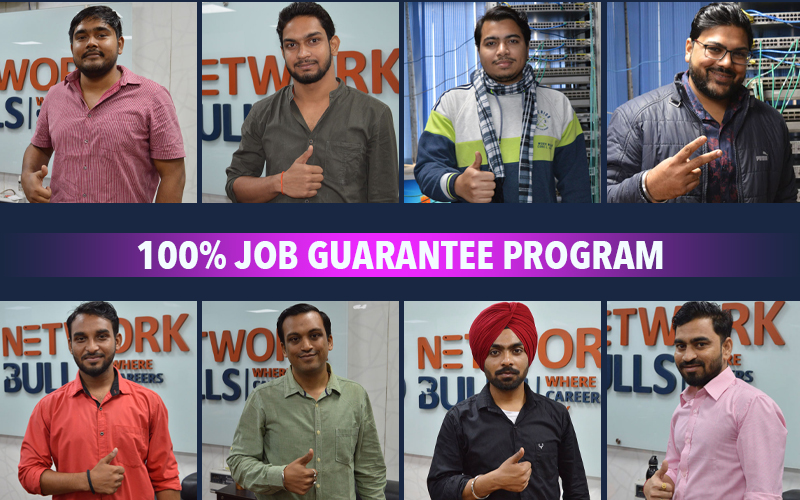 100% job guarantee Program - Network Bulls