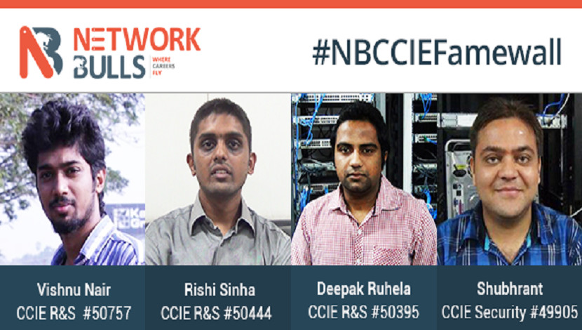 Network Bulls CCIE Success Additions: October 2015