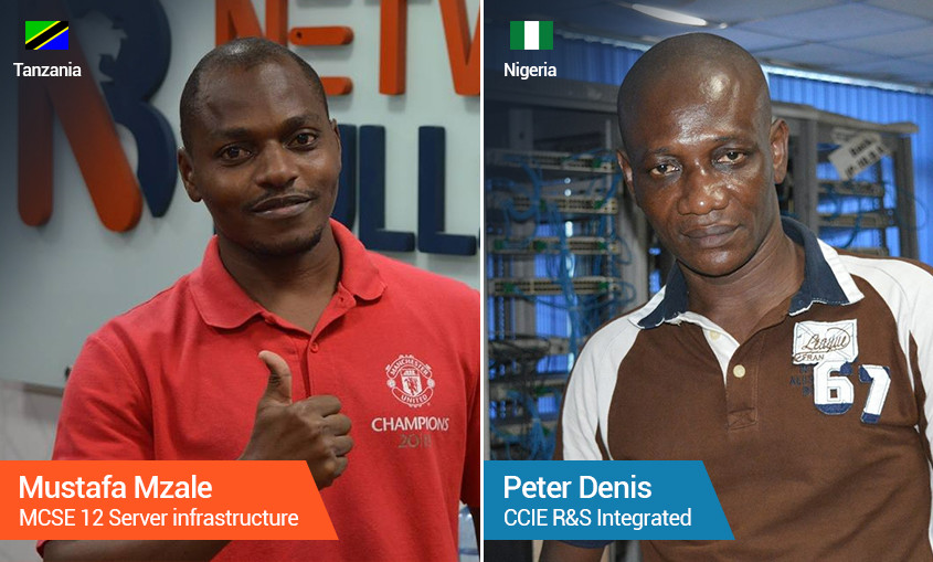Why Network Bulls is the Best Institute for CCIE Training - Mzale of Tanzania & Peter of Nigeria Explain!