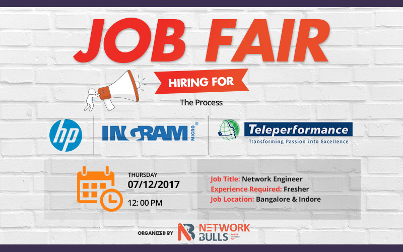 Network Bulls Organizes Biggest Job Placement Fair for CCIE Freshers