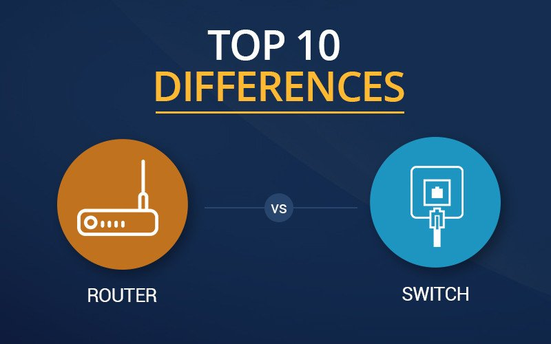 Top 10 major differences between a Router and Switch? #NB Tech A15