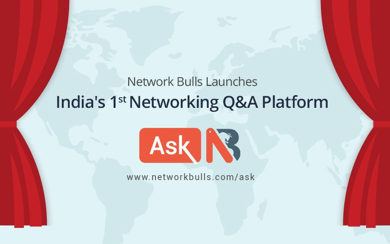 "Network Bulls Launches India's 1st Networking Q&A Platform called ""Ask NB"""