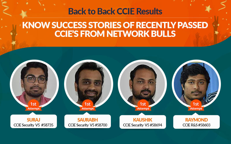 Back to Back CCIE Results – Know Success Stories of Recently Passed CCIE's from Network Bulls