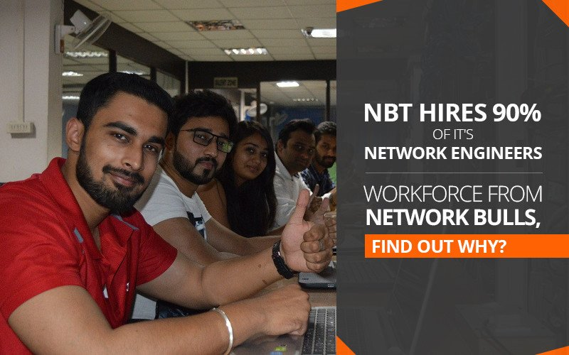NBT Hires 90% of it's Network Engineers Workforce from Network Bulls, Find Out Why?