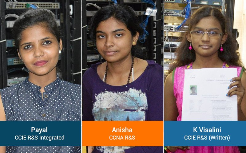 Can women have a Successful Career in Networking after Cisco CCNA, CCNP & CCIE Training?