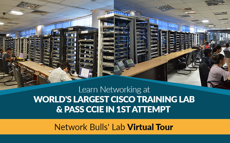 NB Lab Tour - Get Networking Training in Gurgaon at World's Largest Cisco Training Lab