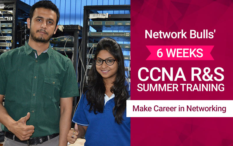 Network Bulls' 6 Weeks CCNA R&S Summer Training – Make Career in Networking