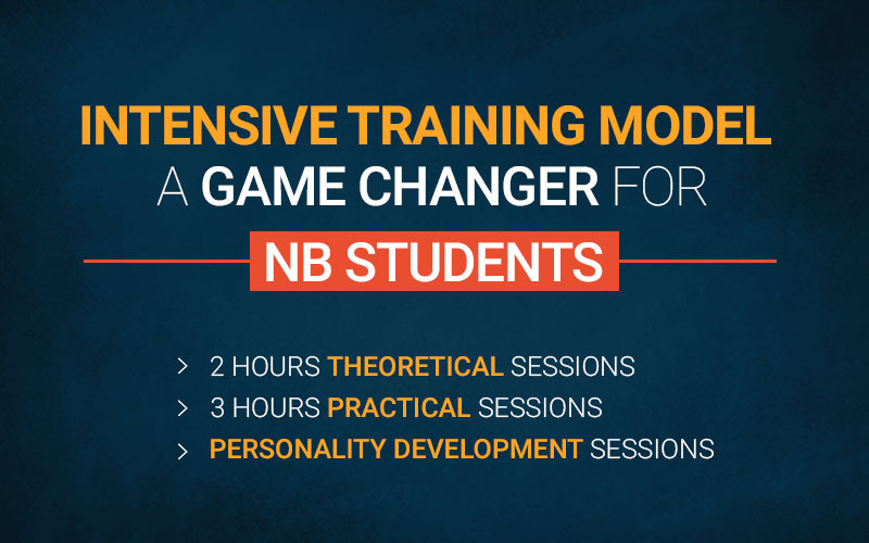 Intensive Training Model- A game changer for NB Students