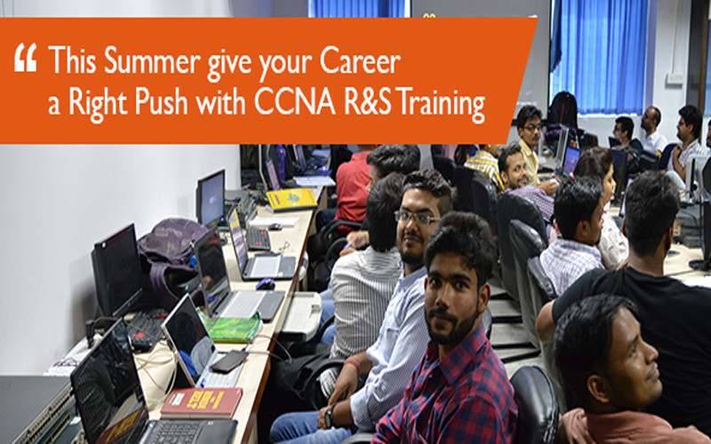 This Summer give your Career a Right Push with Network Bulls CCNA R&S Training