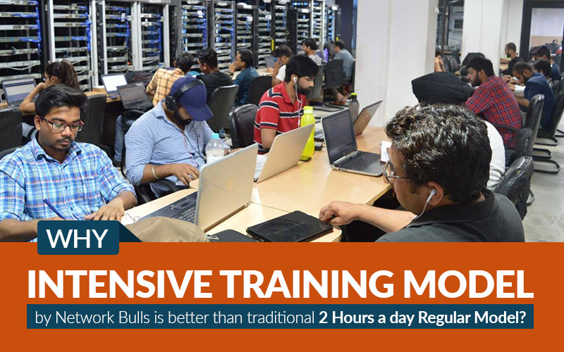 Why Intensive Training model by Network Bulls is better than traditional 2 Hours a day Regular Model?