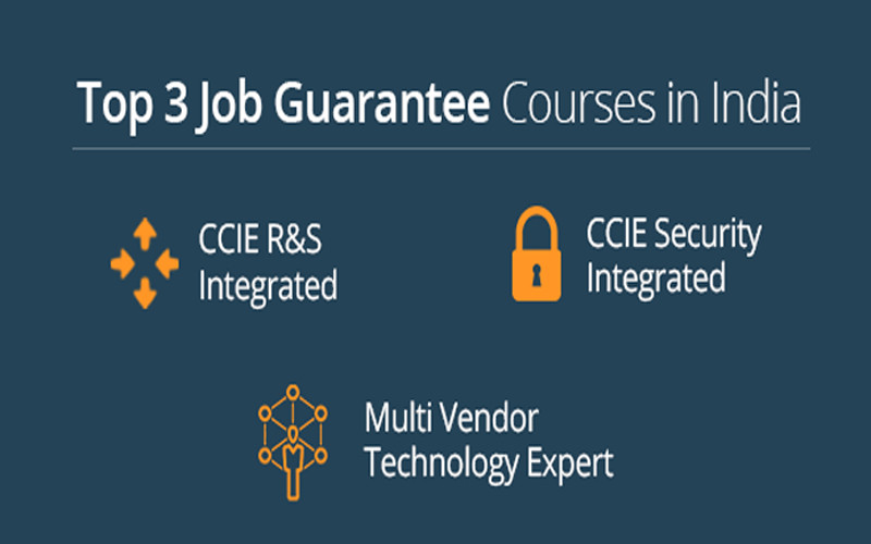 Top 3 Recommended Job Guarantee Courses in India with 100% Placement Record