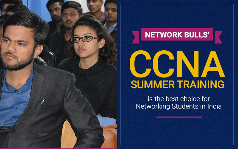Why Network Bulls' CCNA Summer Training is the best choice for Networking Students in India?