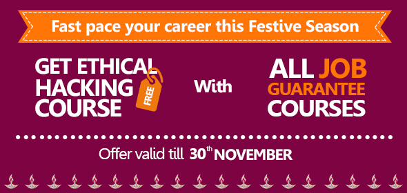 Network Bulls' Diwali Festive Offer – Ethical Hacking Training Free With Job Guarantee Courses
