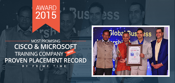 Network Bulls bags one more award for its Highest No. of Job Placements and CCIE Passouts in 2015