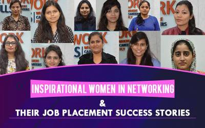 Inspirational Women in Networking and Their Job Placement Success Stories