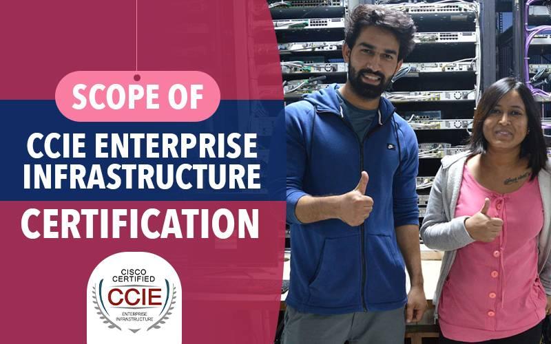 Scope of CCIE Enterprise Infrastructure V1.0 Certification