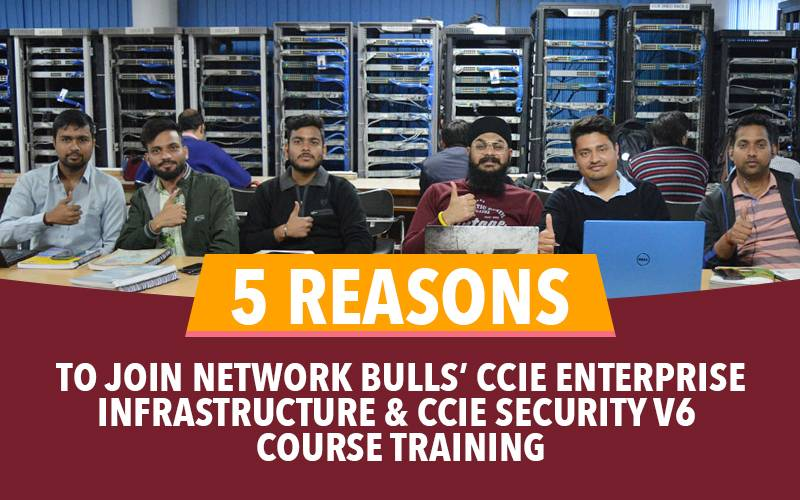 5 Reasons to join Network Bulls' CCIE Enterprise Infrastructure and CCIE Security V6 Course Training