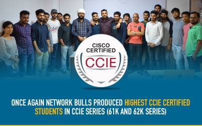 Once again Network Bulls Produced Highest CCIE Certified Students in CCIE Series - (61K and 62K Series)