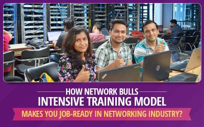 How Network Bulls Intensive Training Model Makes You Job-Ready in Networking Industry?
