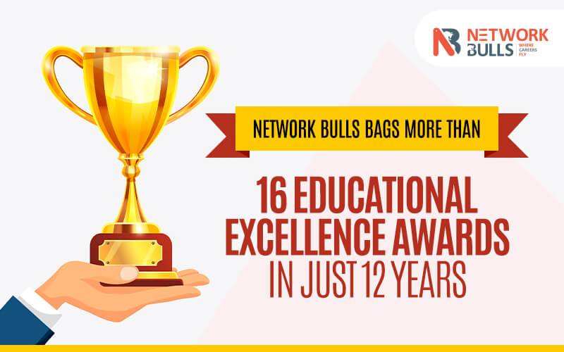 Network Bulls Bags more than 16 Educational Excellence Awards in just 12 years